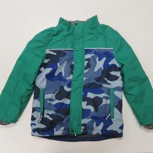 Boden Camo Kids Boys Full Zip Jacket Sz 9-10y